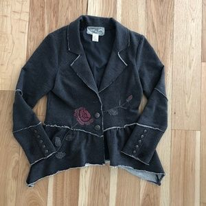 Anthropologie | Nick & Mo Blazer Embroider Jacket